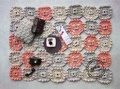 BIG scale handmade crochet rug ENTRE collection  by ENTREDESIGN, €1019.25