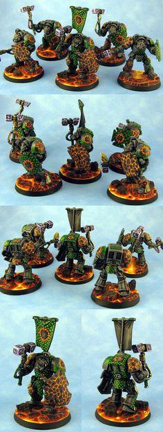 Salamanders Terminators