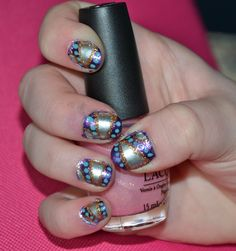 Pretty nail art<3