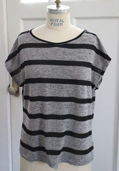 Stewart Allen's perfect striped Kimono Tee