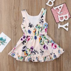 Baby Kid Girls Clothing Dress Romper Jumpsuit Sleeveless Cute Flower Party Tutu Dresses Romper Clothes Girl Pink Floral 612 Months *** To view further for this item, visit the image link. (This is an affiliate link) Baby Kids Clothes, Toddler Girl Dresses, Girls Dresses, Summer Dresses, Cute Baby Girl, Baby Baby, Baby Girls, Girl Sleeves, Princess Outfits