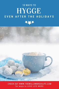 Hygge! How to add hygge to everyday life