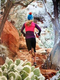 Chilled desert trail run. What a beautiful thing!