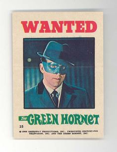 The Green Hornet Stickers #15 (1966)