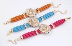 Cool Bracelets Stylish Cool Metal Lion Bracelet Rose #bracelets #stylishbraclets