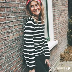 STRIPED SWEATER | Shop at www.thegoods.nl