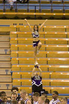 Weber State Cheerleaders by JMR_Photography, via Flickr #cheer #KyFun