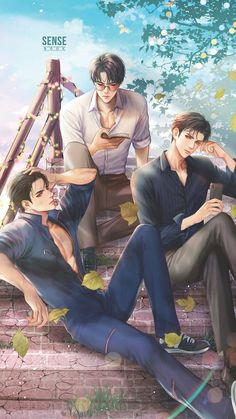 Luân Vô Song They look like the guys in the good girl's bad boys. Anime Boys, Cool Anime Guys, Handsome Anime Guys, Hot Anime Boy, Anime Couples Manga, Anime Art Girl, Manga Art, Manga Anime, Anime Couple Kiss