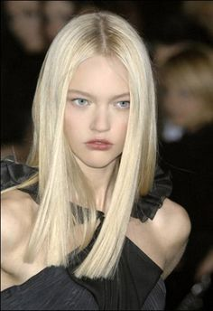 love this-the color and cut make it high fashion; straight, sleek
