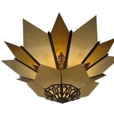 Art Decó chandelier
