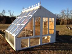 Summertime is the perfect time to exercise a handy green thumb. When Instructables user Kirklewellen decided his yard could use a new greenhouse to contain his gardening projects, instead of buying new glass for the job, he turned to Craigslist for materials. There, he was able to find all sorts of different old windows, perfectly suited for his dream structure. After...