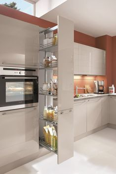 Best for you Best for you You have the right to have the best For advice and safety . Kitchen Pantry Design, Luxury Kitchen Design, Kitchen Layout, Home Decor Kitchen, Interior Design Kitchen, Home Kitchens, Kitchen Designs, Howdens Kitchens, Condo Kitchen