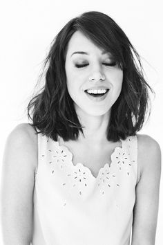 For ages I've been trying to find pictures of exactly the haircut I'm going for, and then I realized I was basically describing Aubrey-Plaza-as-April-Ludgate's hair.