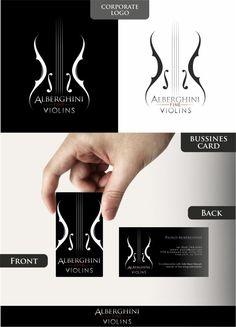 tarjeta de presentación violinista