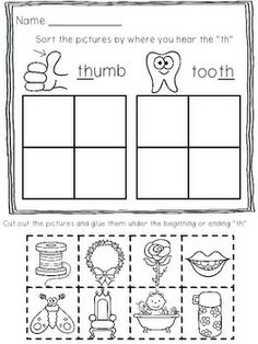 Worksheets Th Digraph Worksheets th digraph worksheets free printable here are 10 print and go for you on beginning ending digraphs is what included cut paste shch c