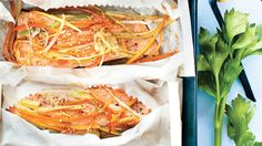 Saumon en papillotes Fish And Seafood, Japchae, Love Food, Cooking, Ethnic Recipes, Best Salmon Recipe, Seafood, Pisces, Kochen