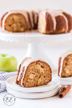 Apple Bundt Cake with Apple Cider Icing Apple Bundt Cake Recipes, Bakery Box, Easy Desserts, Fall Recipes, Apple Cider, Banana Bread, Icing, Food, Essen