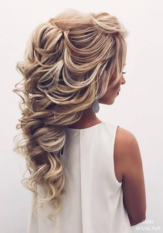 Elstile Long Wedding Hairstyles