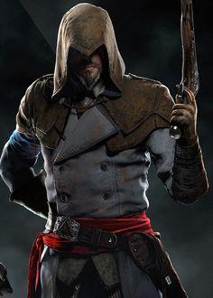 Официальный арт Assassin's Creed Unity