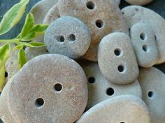 STONE BUTTONS GALORE Made for Fun