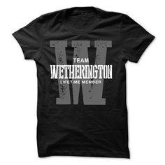 I Love Wetherington team lifetime member ST44 T-Shirts