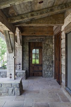 Danny Williams Architect. Sure like it when they repurpose old materials in new homes