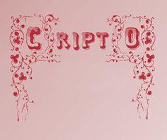 CriptoFont #font ideal for #halloween http://www.t26.com/fonts/11304-CriptoFont