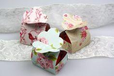 diy geschenk box selber falten pretty packaging origami and dolls. Black Bedroom Furniture Sets. Home Design Ideas