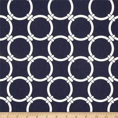 Premier Prints Linked Navy Blue Fabric By The Yard Door Draught Stopper, Draft Stopper, Custom Clutches, Navy Blue Pillows, Custom Valances, Bridesmaid Clutches, Premier Prints, Fabulous Fabrics, Home Decor Fabric
