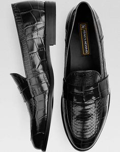 Stacy Adams Black Snakeskin Penny Loafers Top Shoes For Men, Men S Shoes, Loafer Shoes, Loafers Men, Stacy Adams Shoes, Adam Black, Snake Skin Shoes, Mens Training Shoes, Loafers Online