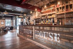 The Bath Brew House opened in Bath, England on September 30th, 2013. The pub features it's own micro brewery (The James Street Brewery) whic...