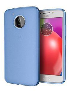 99e5b4027 Moto Case E4 Flexible TPU Premium Slim Protective Cover for Motorola - Blue  #Cimo Phone