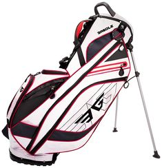 Eagole Super Light, Golf Stand Bag with 8 Pockets, One Cooler Pouch, lb, White Golf Stand Bags, Golf Bags, Wilson Golf, Cleveland Golf, Hip Pads, Hybrid Design, Golf Tips For Beginners, Callaway Golf, Golf Training