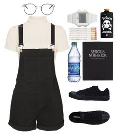"""》W H Y ?"" by pheachy-cleahn ❤ liked on Polyvore featuring Staud, Vero Moda, Converse, Happy Jackson, adidas and Garrett Leight"