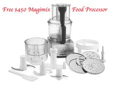 "Another fantastic giveaway from the Civilized Caveman Cooking Creations! This time it's for a Magimix food processor, ""the Cadillac of food processors"", as he likes to call it. Entering is very simple and fast, so what have you to lose? Give it a shot! Enter now!  http://civilizedcavemancooking.com/current-giveaway/magimix-food-processor-giveaway-compact-3200-xl/"
