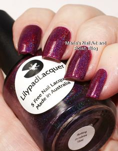 Lilypad Lacquer Rolling In Rubies $15