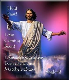 Are you ready? He is coming soon!
