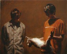 michael borremans paintings | Paintings by Michaël Borremans | Ananas à Miami