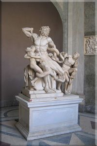 Ancient Greek Art of marble statue of Laocoön and his sons, Ancient Greek Architecture, Art And Architecture, Roman Sculpture, Sculpture Art, Michelangelo Sculpture, Miguel Angel, Michael Angelo Art, Rome, Ancient Greek Art