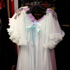 These retro-inspired robes from Dotties Delight are a gauzey, girly dream!