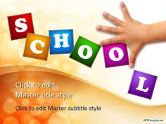 Free Back To School PPT Template