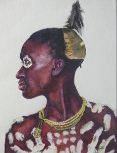 """""""Karo Man"""", Ethiopoia"""