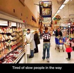 He's Shoplifting In The Literal Sense
