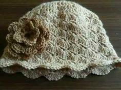 Πλεκτό σκουφάκι - καπελάκι Νο 1!!! Art of crochet - by Airis