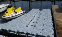 Have a drive-on lift for both your boat AND your jetski with Dock Blocks! #JetskiLift #BoatLift