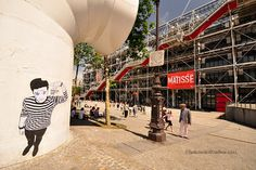 Le Graff … Some interesting graffiti near the Pompidou Centre, Paris
