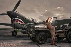 Wings of Angels Prints, WWII Pinups, Wings of Angels Models, Michael Malak, Malak Photography.com