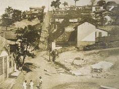CHC - Morro do Livramento, no Rio de Janeiro, onde provavelmente nasceu Machado de Assis (Foto: ABL)
