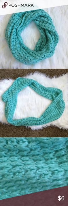 Aeropostale blue infinity scarf Aeropostale infinity blue scarf. One size fits all. Gently used in good condition! Aeropostale Accessories Scarves & Wraps