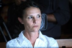Sara Connor during her trial in Bali, Indonesia, Tuesday, Feb. 21, 2017, when prosecutors called for an eight-year sentence for the pair. (AP Photo/Firdia Lisnawati)